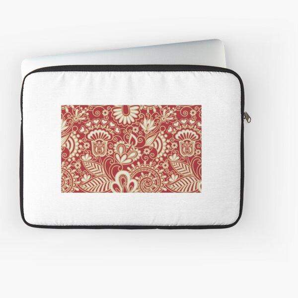 Simple Floral Laptop Sleeve