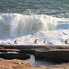 'Da Boyz Watchin' Da Waves' by Scott Bricker