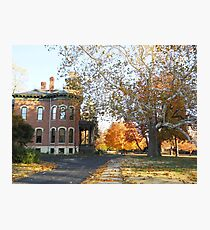 James & Anna Millikin Home, Decatur IL Photographic Print
