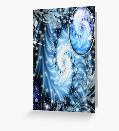 Eternal Blue  Greeting Card