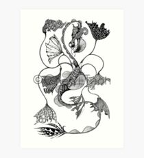 Vaux: Façade Art Print