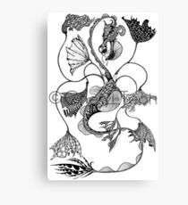 Vaux: Façade Canvas Print
