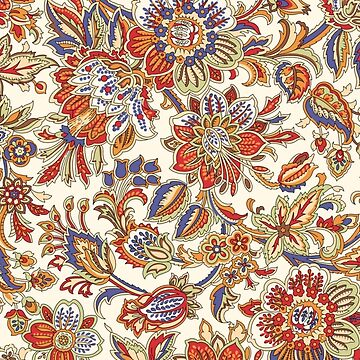 Middle Eastern Floral Pattern by Awkwardphoton