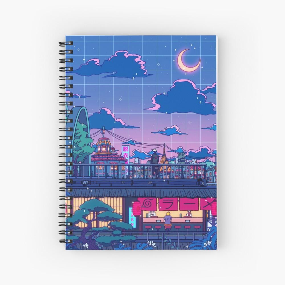 Konohagakure Spiral Notebook