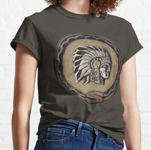 Emblème en chef Jeep Cherokee T-shirt classique