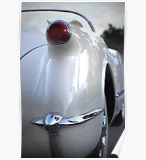 1954 Corvette Poster
