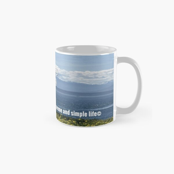 blessings in your day, joy in the journey mug Classic Mug