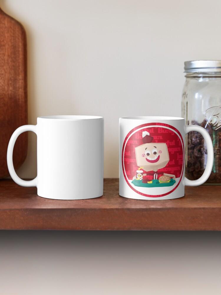 Alternate view of Larry the Joyful Burger Worker - The Amazing World of Gumball Mug