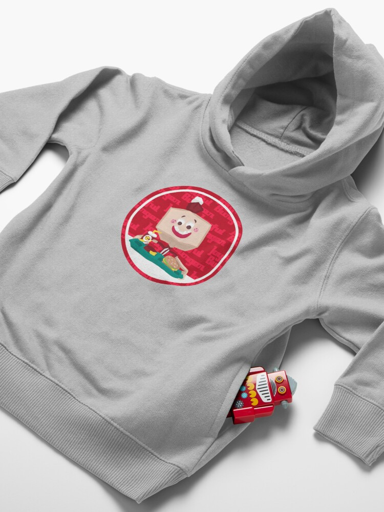 Alternate view of Larry the Joyful Burger Worker - The Amazing World of Gumball Toddler Pullover Hoodie