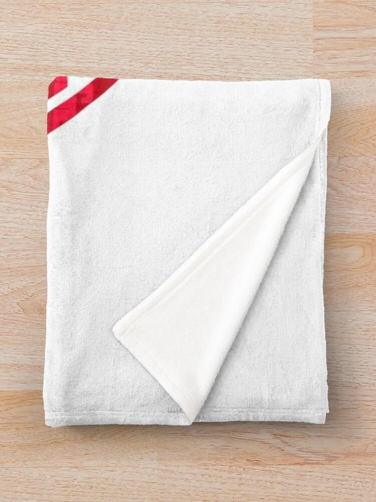 Alternate view of Larry the Joyful Burger Worker - The Amazing World of Gumball Throw Blanket
