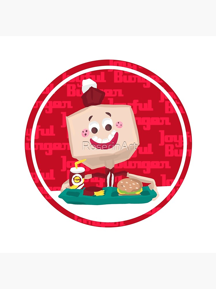 Larry the Joyful Burger Worker - The Amazing World of Gumball by RoserinArt