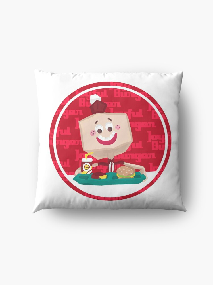 Alternate view of Larry the Joyful Burger Worker - The Amazing World of Gumball Floor Pillow