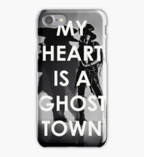 Adam Lambert My Heart Is A Ghost Town iPhone Case/Skin