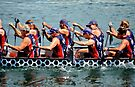 US Dragon Boat Team 2015 by Laurie Minor