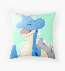 Happy Lappy Throw Pillow
