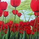 Tulipanes by Angel Ortiz