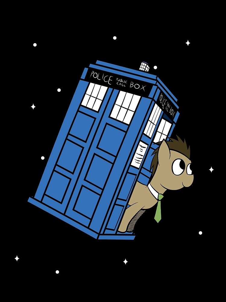 The Doctor and his TARDIS by ReplayTheMaster