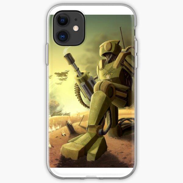 Robot's Dawn iPhone Soft Case