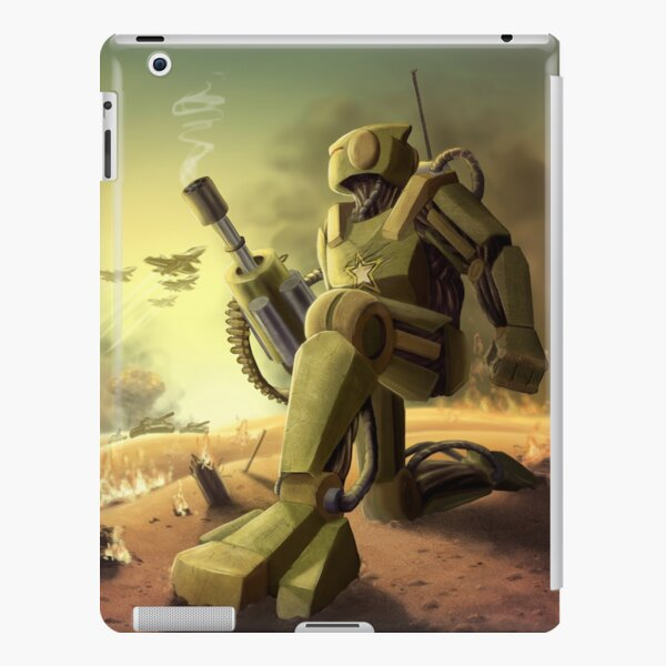 Robot's Dawn iPad Snap Case