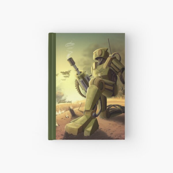Robot's Dawn Hardcover Journal