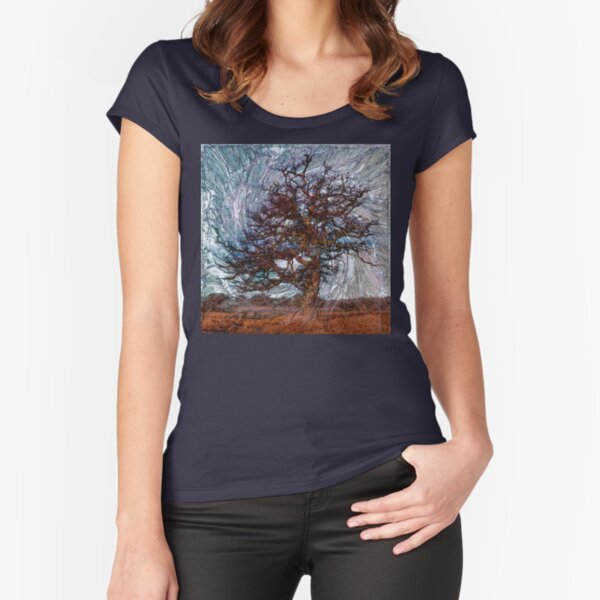 World Trees 4 Fitted Scoop T-Shirt