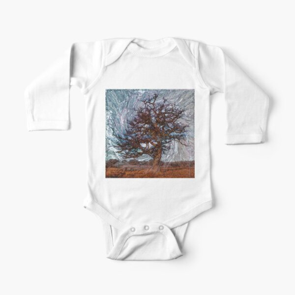 World Trees 4 Long Sleeve Baby One-Piece
