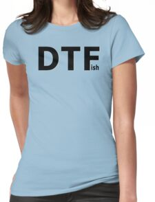 DTFish - Fishing T-shirt Womens Fitted T-Shirt