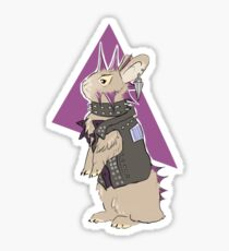 Punk Bunny  Sticker