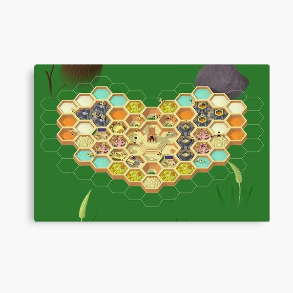 Hive Time screenshot Canvas Print