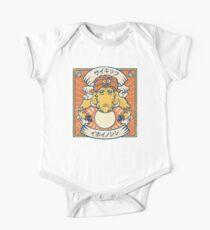 Psychic Warthog Short Sleeve Baby One-Piece