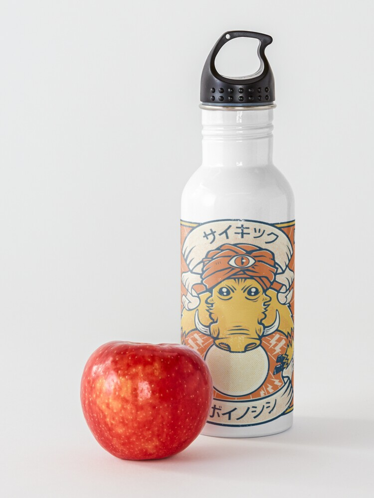 Alternate view of Psychic Warthog Water Bottle