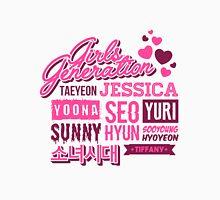SNSD Girls' Generation Collage Unisex T-Shirt