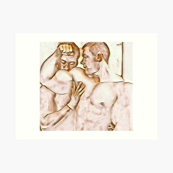 Muscle Worship Art Print