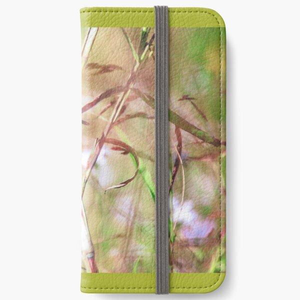 Superb Fairywren - Wren in the Grasses iPhone Wallet