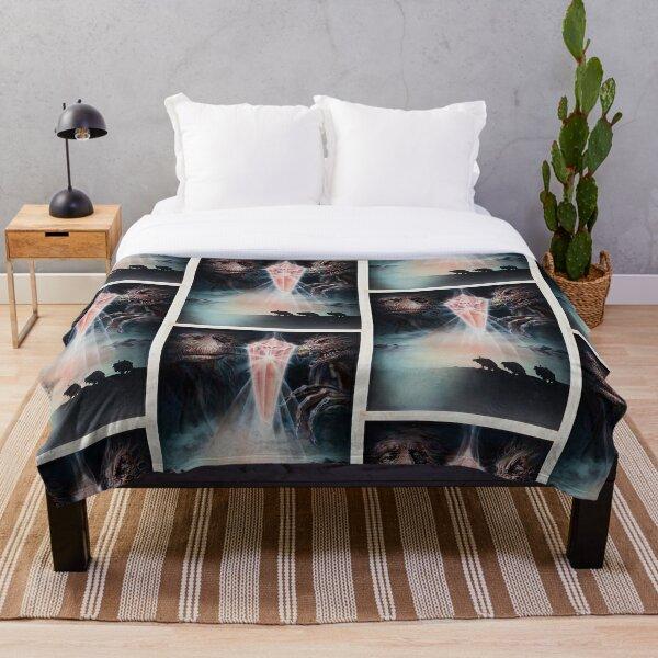 Dark crystal original artwork  Throw Blanket