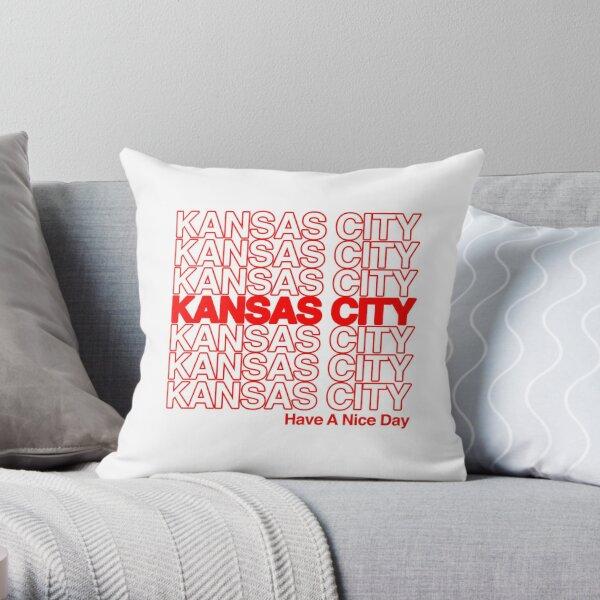 Kansas City Thank You Bag Style Have A Nice Day Throw Pillow