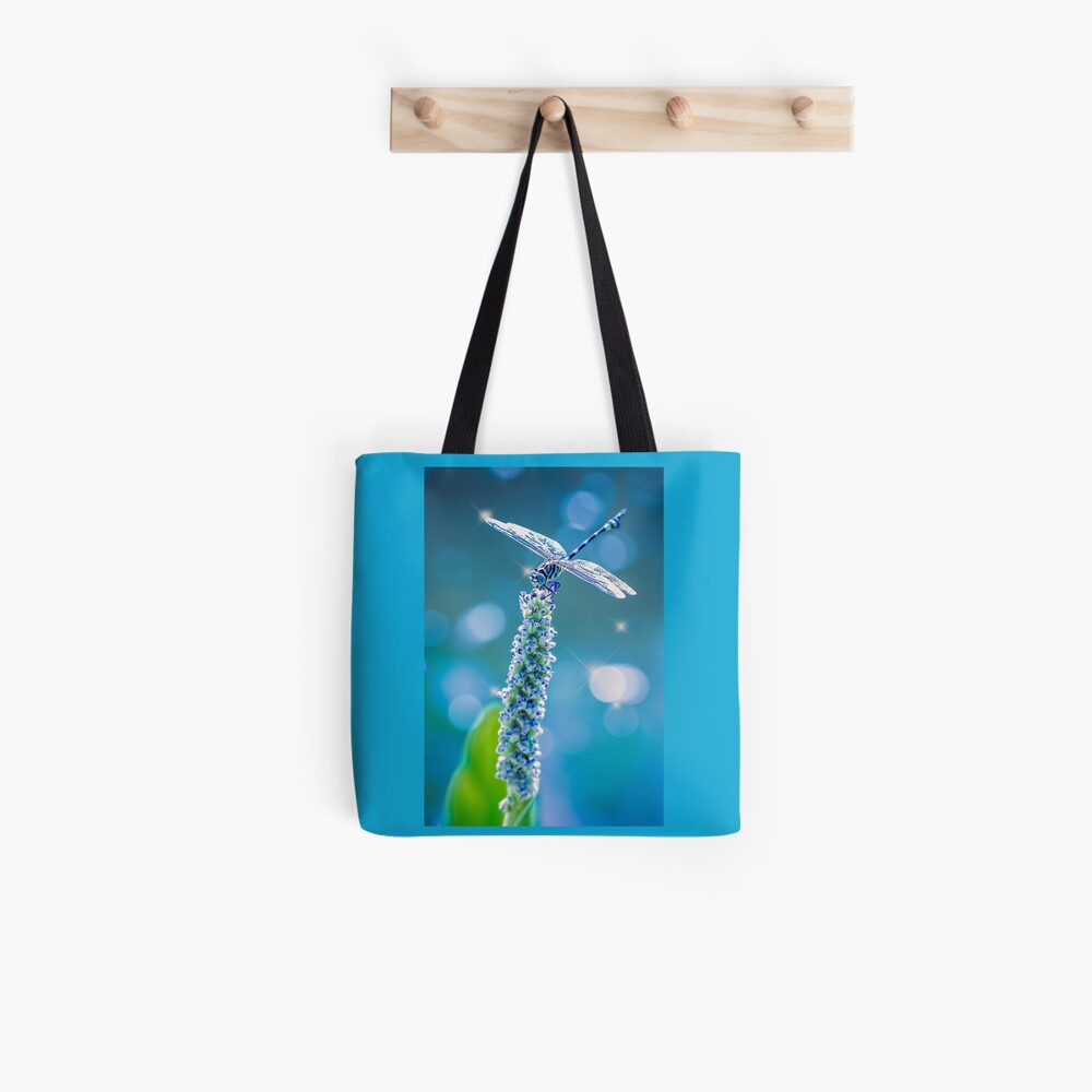 Dragonfly - Mystic Blue Tote Bag
