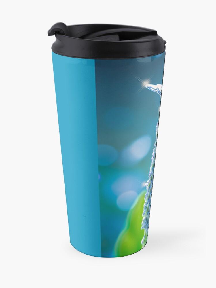 Alternate view of Dragonfly - Mystic Blue Travel Mug