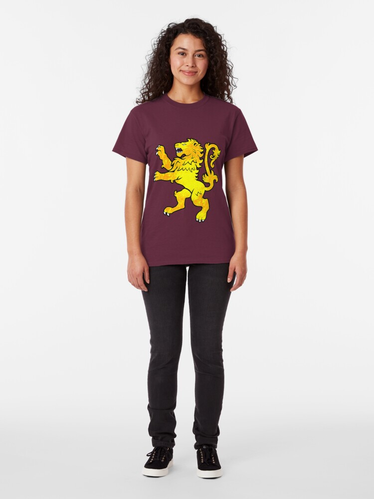 Alternate view of Lion Rampant Classic T-Shirt