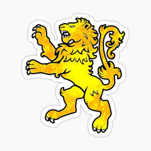 Lion Rampant Sticker