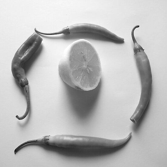 Lemon and Paprika by Catalina Negoita