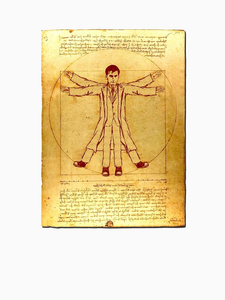 Da Vinci's Vitruvian Timelord by brianftang