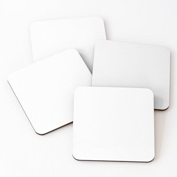 White white Coasters (Set of 4)