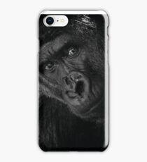 Cassius --Silverback Gorilla iPhone Case/Skin