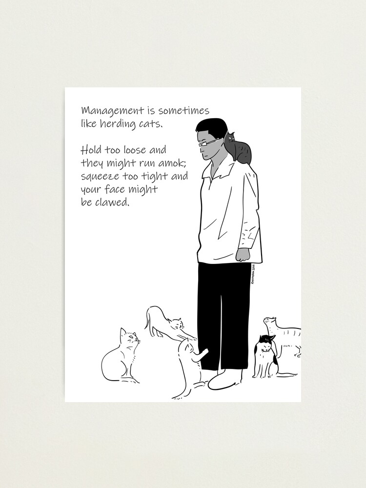 Alternate view of What Is Management? Photographic Print