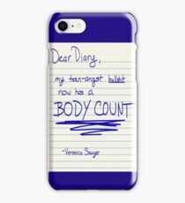 Best diary entry of the 80's iPhone Case/Skin