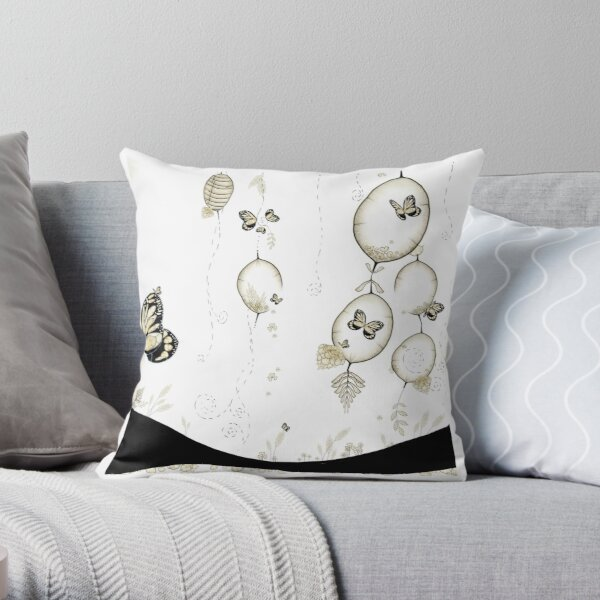 Paysages Oniriques Throw Pillow
