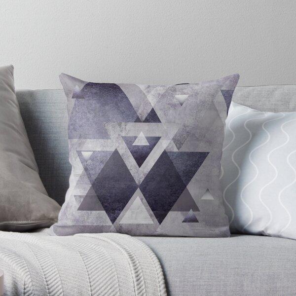 Geométrico púrpura Cojín