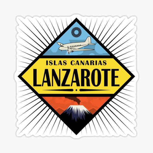Etiqueta Lanzarote Tavel Retro Pegatina