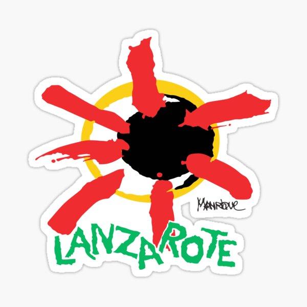 Lanzarote Art Pegatina